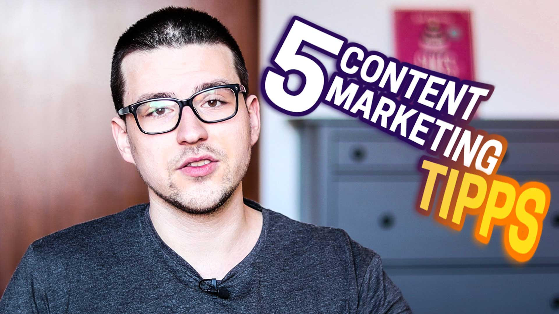 Top 5 Content Marketing Tipps